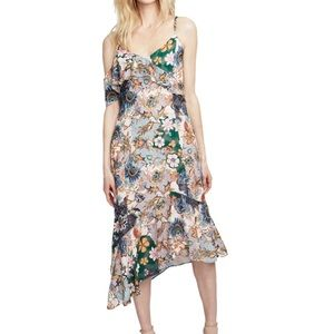 NWT Rachel Roy Asymmetrical Floral Dress